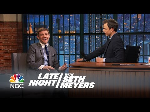 Martin Freeman Will Not Miss Wearing Hobbit Feet - Late Night with Seth Meyers