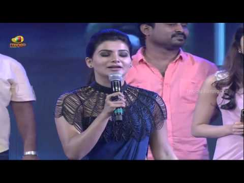 Samantha disappointed with Jr NTR @ Rabhasa Audio Launch- Pranitha Subhash