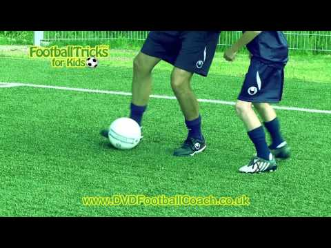 Learn Neymar/Eriksen Soccer Trick Dribble (Nutmeg Panna) - How to do Football Skills & Moves