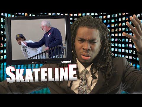 SKATELINE - Shane ONeill Over Yuto Horigome, Pedro Delfino, Jerry Hsu, Matt Miller, Man Ramp,