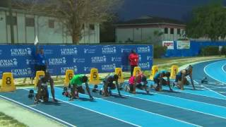 Spencer Adams 13.51s Men's 110m Hurdles Cayman Invitational 2016