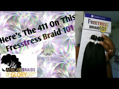 Hair Review: Freetress Braid 101 (Not Sponsored)