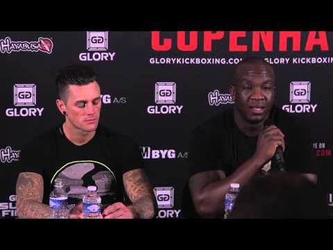 GLORY 29 Copenhagen - Post Fight Press conference