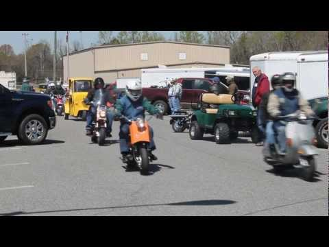 Cushman Scooter Convention in Cochran Ga.