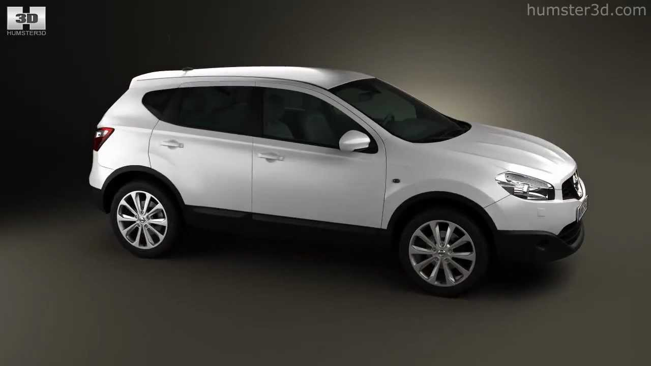 nissan qashqai 2010 by 3d model store youtube. Black Bedroom Furniture Sets. Home Design Ideas