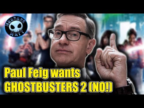 Paul Feig Wants To Direct GHOSTBUSTERS 2