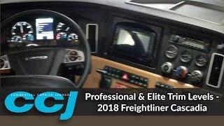 Professional & Elite Trim Levels - 2018 Freightliner Cascadia