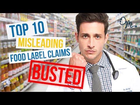 Download  Top 10 Misleading Food Label Claims | Nutrition Labels BUSTED!!! Gratis, download lagu terbaru