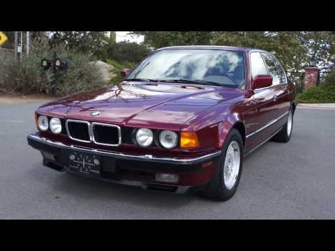 BMW 740IL E32 E38 V8 750IL 740i 1 Owner 52.000 Original mile 1 Owner Car Guy