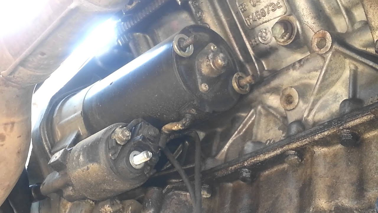 bmw e38 e39 starter replacement 540 740