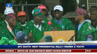 Women, Youths Take APC Presidential Rally To Ibadan Pt.12 |Live Event|