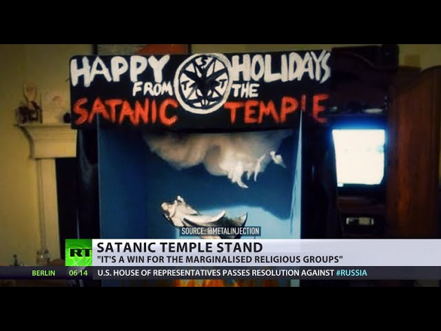 Holidays from hell: Satanic Temple wins right to erect 'fallen angel' display in FL