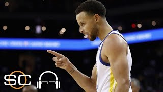 Steph Curry drops 29 points on Suns in Warriors' win 123-103   NBA Highlights   SC with SVP