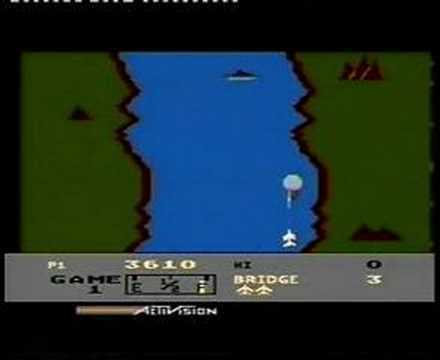 Atari 800 XL - River Raid Music Videos