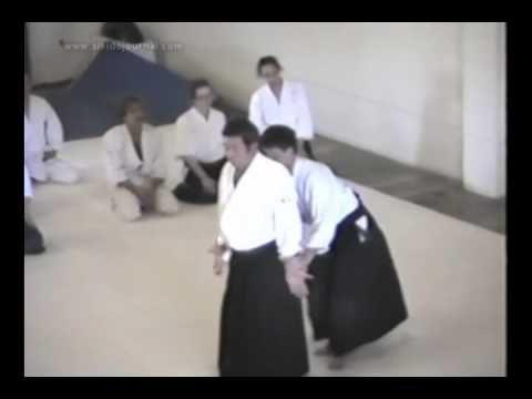 Morihiro Saito, 9th dan, on the Koshinage and Kotegaeshi techniques of Aikido Image 1