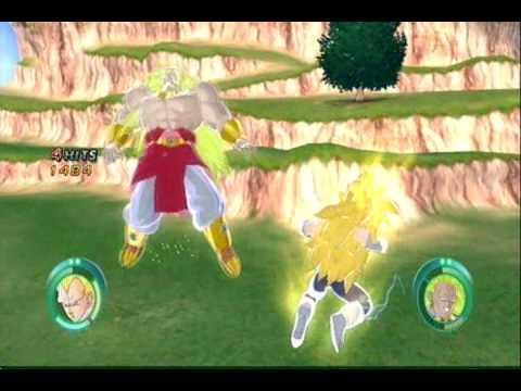 Dragon Ball Raging Blast: Meet Super Saiyan 3 Vegeta
