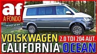 """Volkswagen California Ocean """"Camper""""   Review al detalle"""