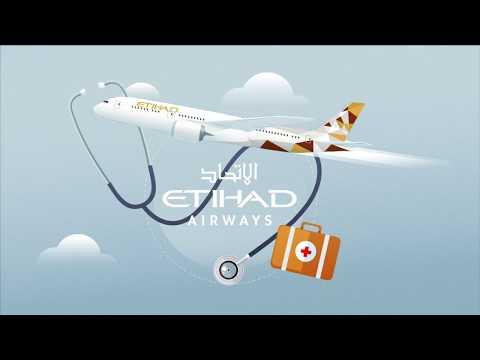 Etihad Airways unveils new in-flight medical services