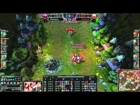 Round 1 : Crs.eu vs M5 - Match 2 - LoL ECC: Poland, Warsaw 28-29.07.2012
