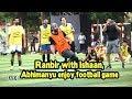 Ranbir Kapoor with Ishaan, Abhimanyu enjoy football game- Video
