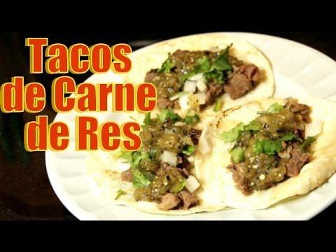 Tacos de Carne de Res - Receta | Casayfamiliatv