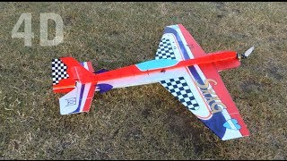 Video | #4D RC airplane | Marcos IATRINO