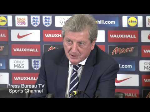 Roy Hodgson reaction England vs France - In French