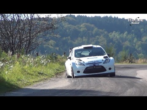 Tests Days Jari Matti Latvala for Rallye de France Alsace 2012 [HD] Rallye-Addict.com