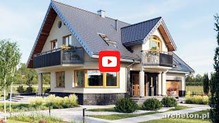Projekty domów dużych od 230 m2