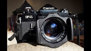 New Film Photography Channel + Canon F-1 Review!