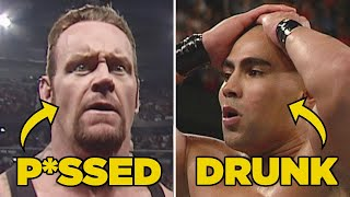 10 Most Infamous WWE Royal Rumble Backstage Moments