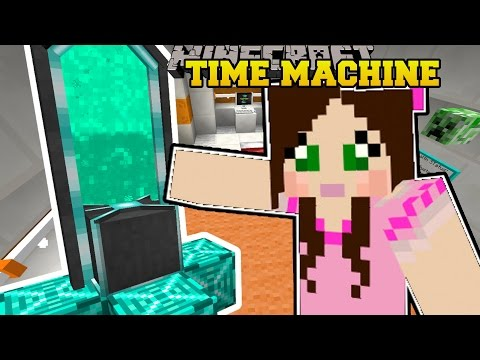 Minecraft: TIME MACHINE! - CHASING TIME - Custom Map [1]