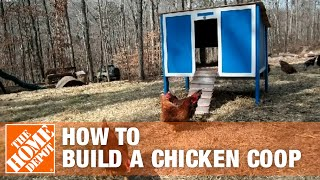 How To Build a Chicken Coop Part 1 - The Home Depot