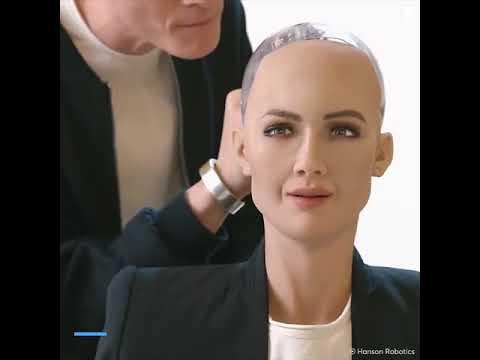 Celebrity Robot Sophia Gets An Upgrade
