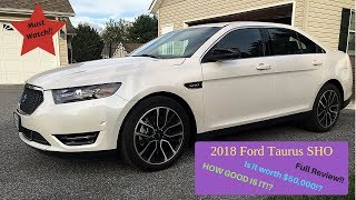 2018 Ford Taurus SHO full Review!