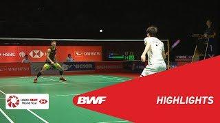 PERODUA Malaysia Masters 2019   MS - F - HIGHLIGHTS   BWF 2019