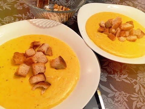 🧀Сырный суп БЕЗ БЛЕНДЕРА !  20 минут и готово