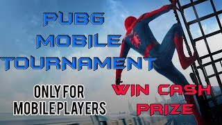 🔴PUBG  MOBILE TOURNAMENT|| CASH PRIZE  || LIVE ||  SUBSCRIBES AND JOIN  || OPEN TO ALL