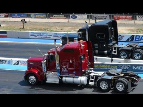 Truck Fest 2013: Smokey Big Rigs Burnouts & Drag Racing Revealed