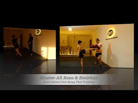 Master Ali Reza & Emirhan: Arad Global Club, Muay Thai Training, Eskişehir Kick Boks