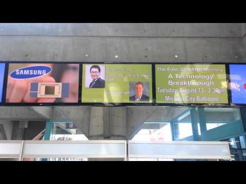 V-NAND Keynote promo - Santa Clara Convention Center