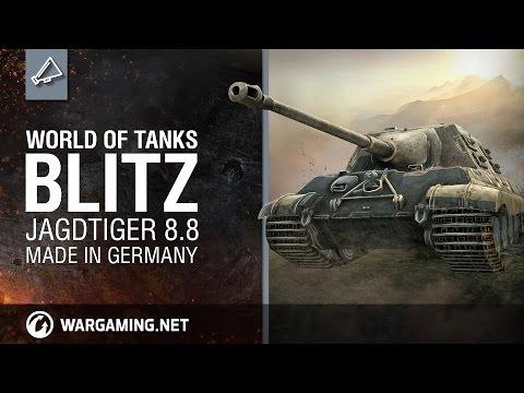 World of Tanks Blitz: The Jagdtiger 8.8 -