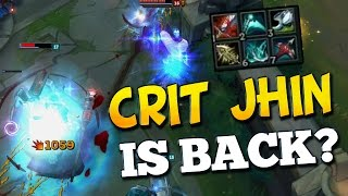 CRIT JHIN IS BACK? Best 6.20 AD? Duo Bot with Foxdrop (League of Legends)