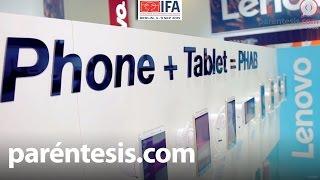 #IFA2015: Lenovo PHAB Plus, una gran pantalla en un cuerpo delgado