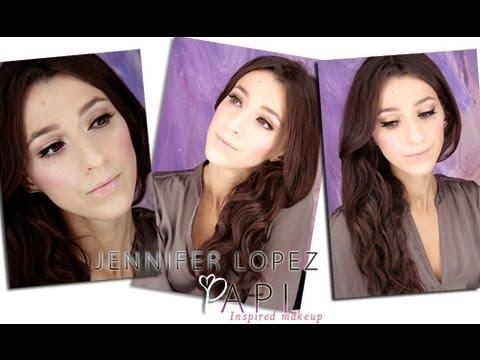 Jennifer Lopez- Papi Inspired Makeup:)