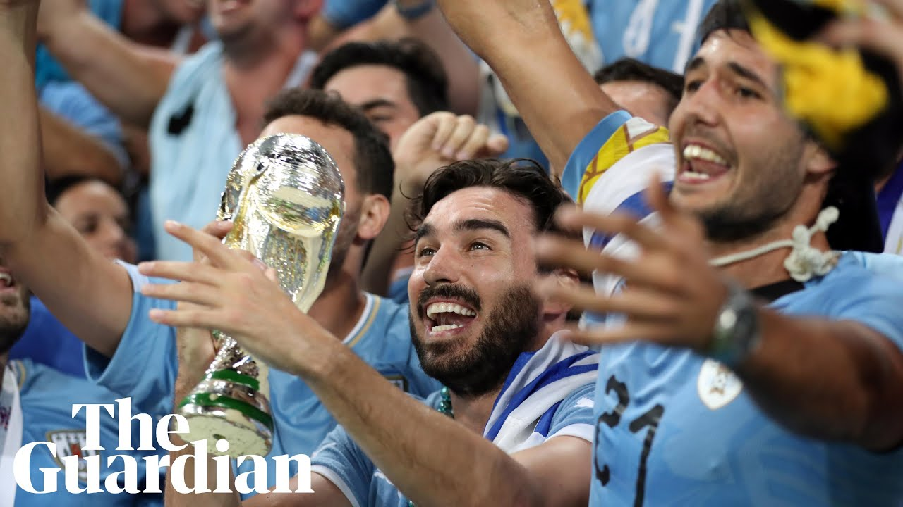 Uruguay fans elated as they beat Portugal to reach World Cup quarter-finals