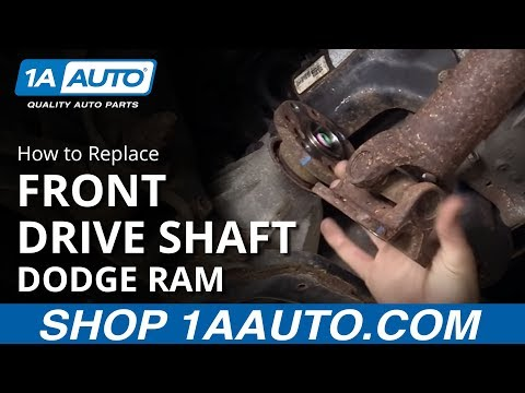 How to Install Replace Front Drive Shaft 2002-08 Dodge Ram 1500 Buy Quality Auto Parts at 1AAuto.com