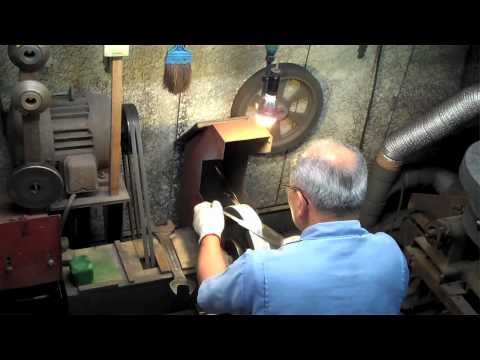 Japanese Knife Making at Kikuichi in Japan