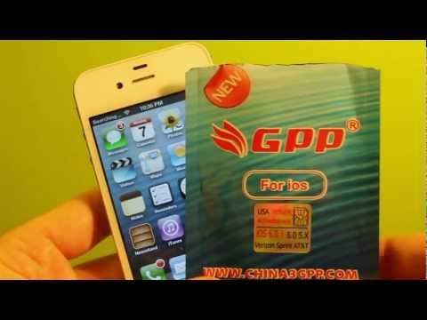 Unlock iPhone 4S iOS 7/ 6.1.3 - 6.0 5.x.x CDMA GPP Sim/No Jailbreak iOS Sprint Verizon At&t TMobile