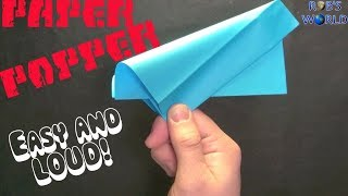 How To Make A Paper Popper! (easy)